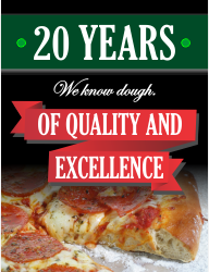 20 years of quality and excellence
